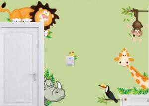 Des stickers pour décorer la chambre de votre enfant