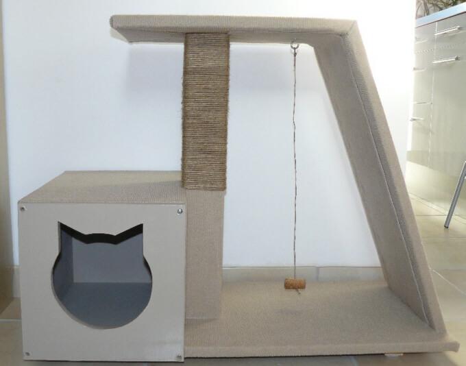 trouvez votre inspiration pour fabriquer un arbre chat. Black Bedroom Furniture Sets. Home Design Ideas
