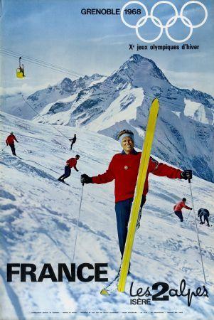 Jeux Olympiques d'hiver à Grenoble en 1968