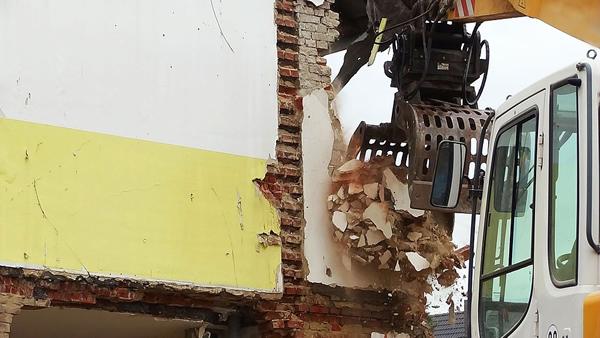 démolition industrielle
