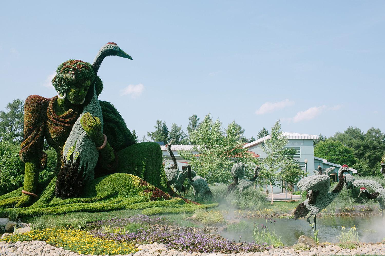 jardin botanique de montre´al