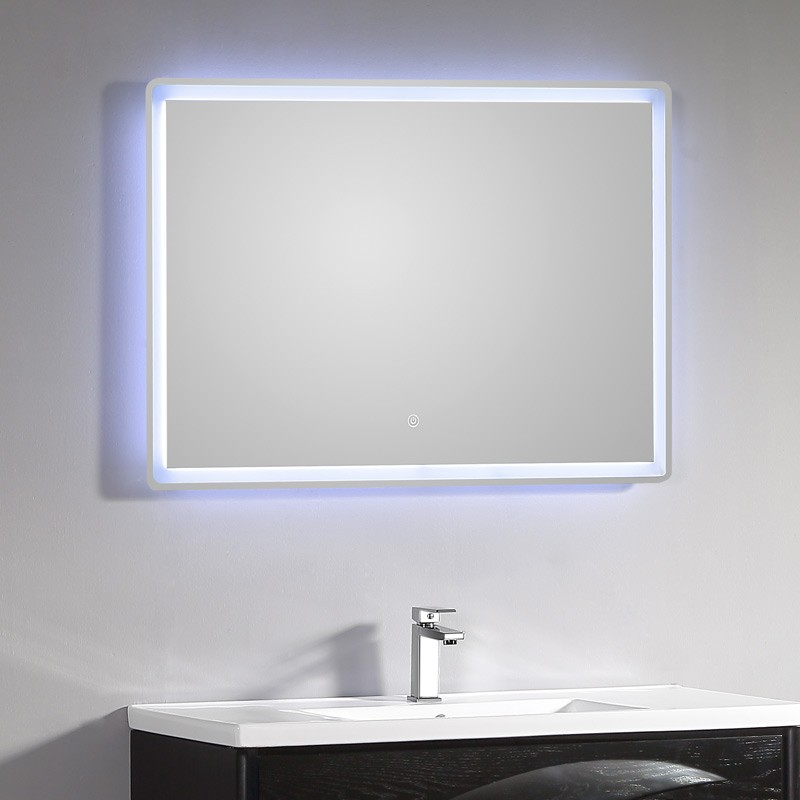 miroir lumineux id al pour d corer votre salle de bain bricolo blogger. Black Bedroom Furniture Sets. Home Design Ideas