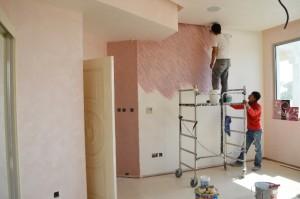 travaux de rénovation d'intérieure
