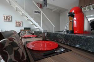 Ajouter des accessoires rouges dans sa cuisine