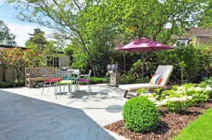 aménagement jardin d'été