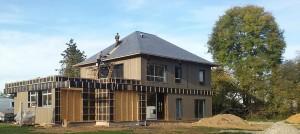Faire construire une maison à ossature en bois