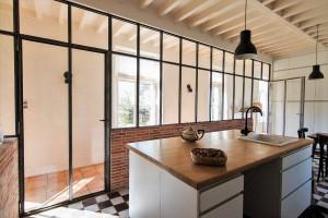 Cloisonner un espace avec une verrière d'intérieur