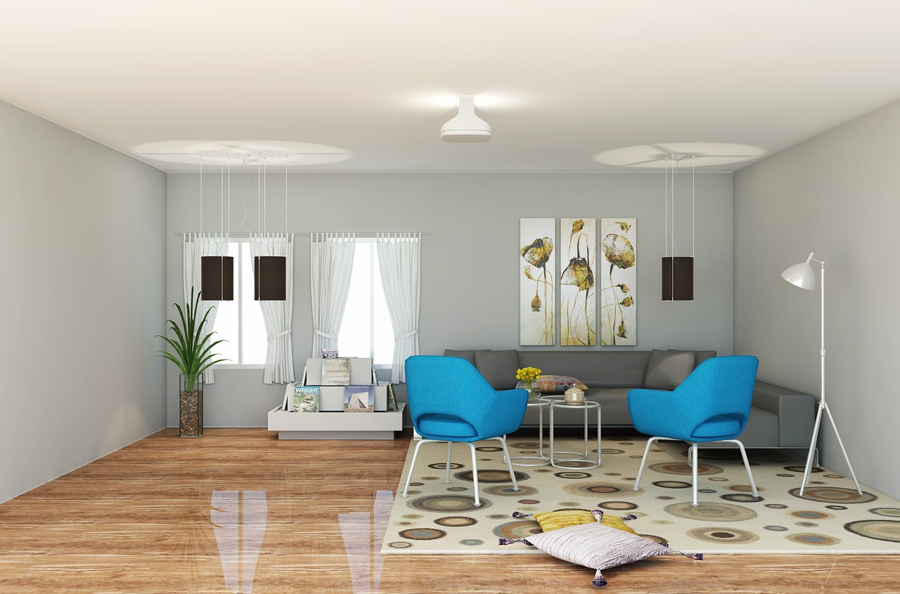 Déco de salon dans un style contemporain | Bricolo Blogger