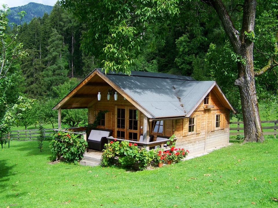auto-construction d'une maison en bois