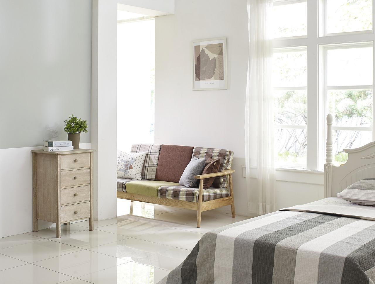 Chambre créer une atmosphère de détente