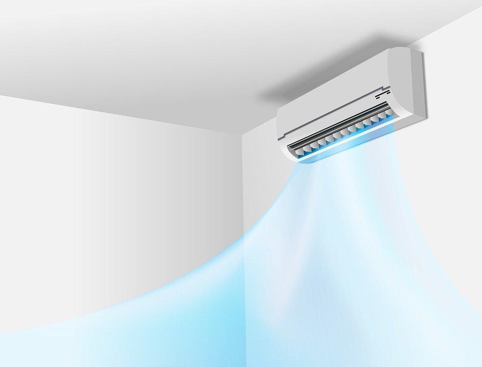 climatiseur en été